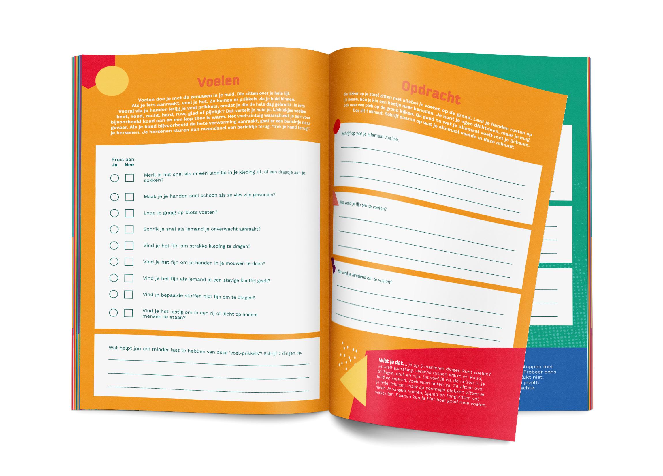 Prikkelprofiel Werkboek